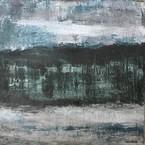 Bretanya(1). 60 x 60 cm . Acrylic+coldwax