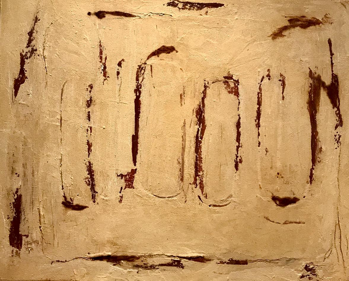 Rastres num 5 100 x 81 cm