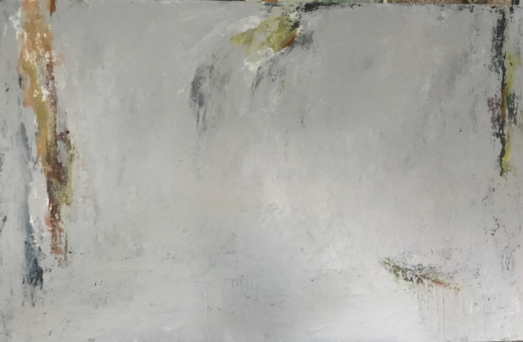 Gris. 80 x 122 cm. Acrilico