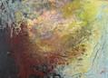 Serie Napoli Vesubio (6) 30 x 22 cm Acrylic + cold wax