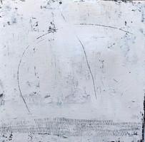 Secuencia num 1. 60 x 60 cm . Acrylic+ coldwax