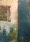 pared. 70 x 50 cm.oil+coldwax