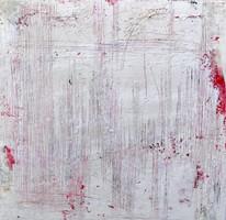 Secuencia num 2. 60 x60 cm. Acrylic + coldwax