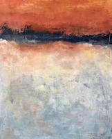 Bretanya (9). 100 x 81 cm. Acrylic+coldwax