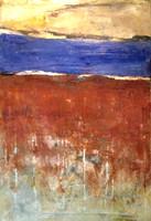 Senegal(2). 81 x 54 cm. oil+coldwax