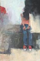 Presencia y ausencia (1) 90 x 60 cm Acrilico