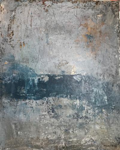 Bretanya(2). 60 x 49 cm .Acrylic+coldwax
