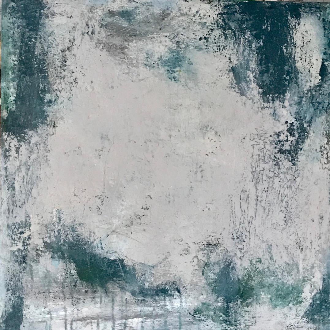 Bretanya(3). 60 x 60 cm .Acrylic+coldwax
