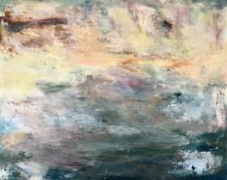 cielo 80 x 100 cm Acrilico