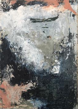 Napoli. Textura Vesubio. 30,2 x 22 cm.Acrilico+coldwax