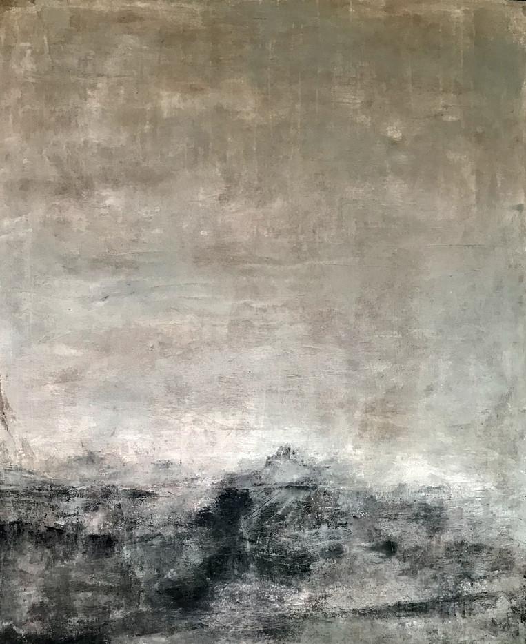 Bretanya(7) 126 x 100 cm Acrylic+coldwax