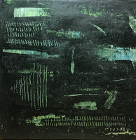 Secuencia num 14 30 x 30 cm