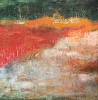 camino(2) 60 x 60 cm oil+coldwax