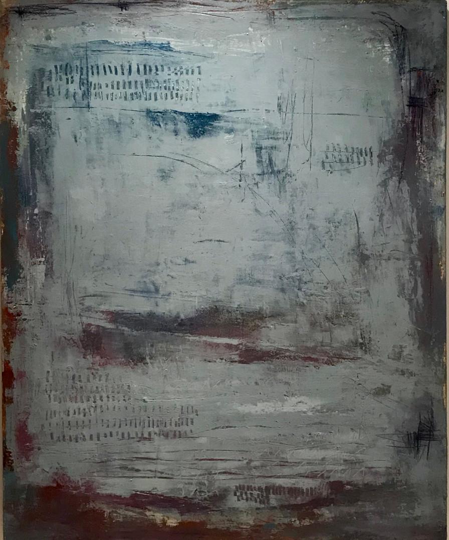 Secuencia num 7. 81 x 100 cm. Acrilico +