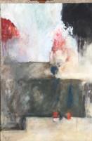Presencia y ausencia(2) 90 x 60 cm Acrilico