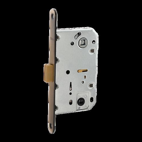 Межкомнатный механизм под фиксатор   WC410B-S MAGNET AB (бронза, межос. 96 м