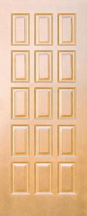 Дверь сучковая 15ти филенчатая
