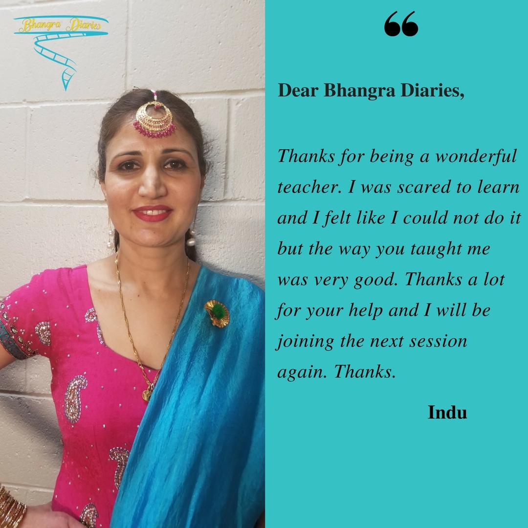 Indu Client Diaries