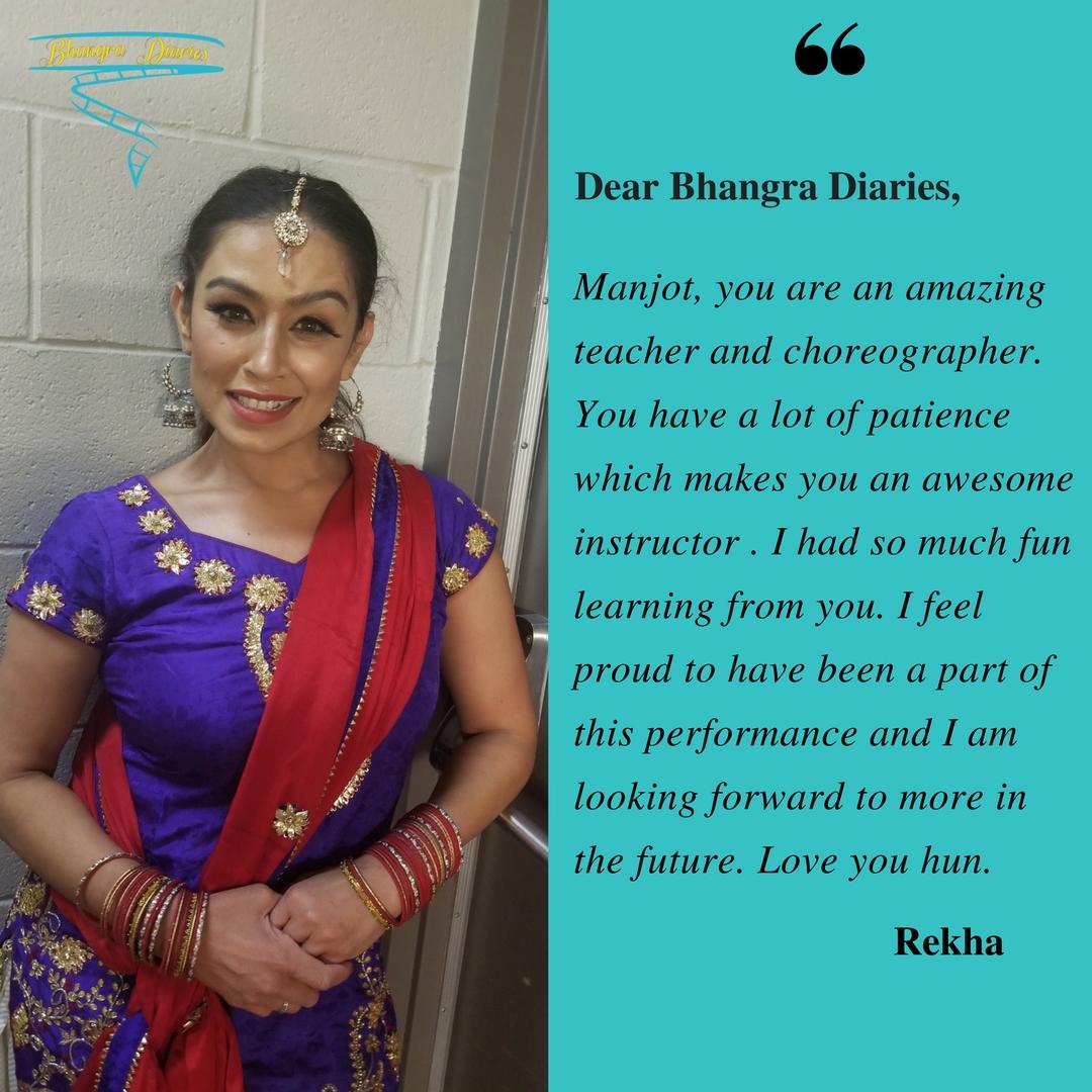 Rekha Client Diaries