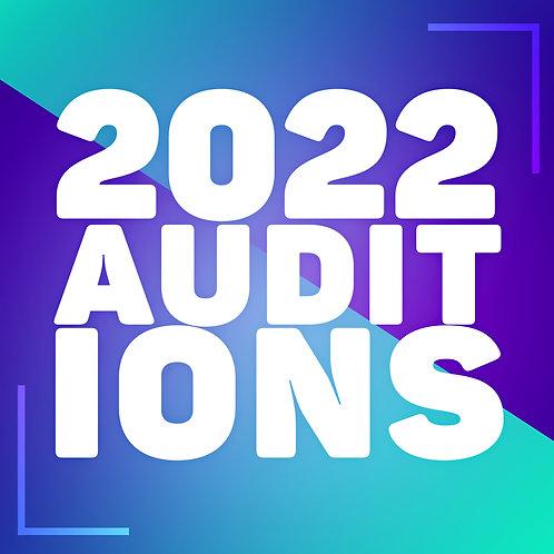 2022 Audition Registration