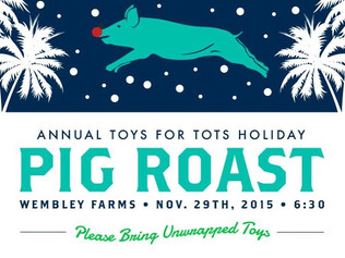 Save the date: Toys for Tots BBQ Nov. 29th