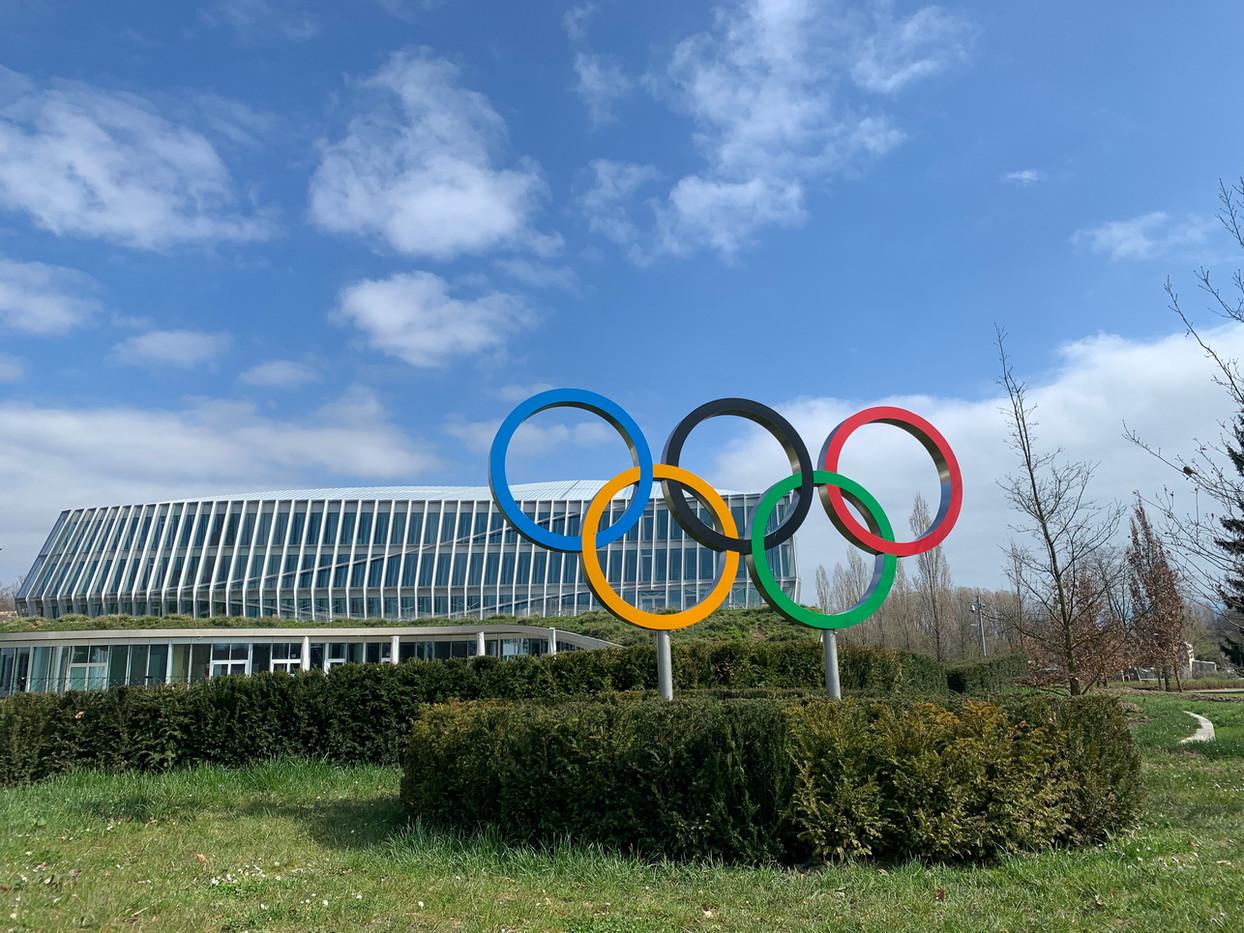 Anneaux Olympic du CIO Lausanne