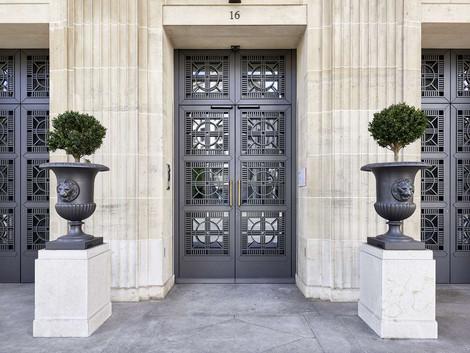 Porte de banque motorisée Lausanne