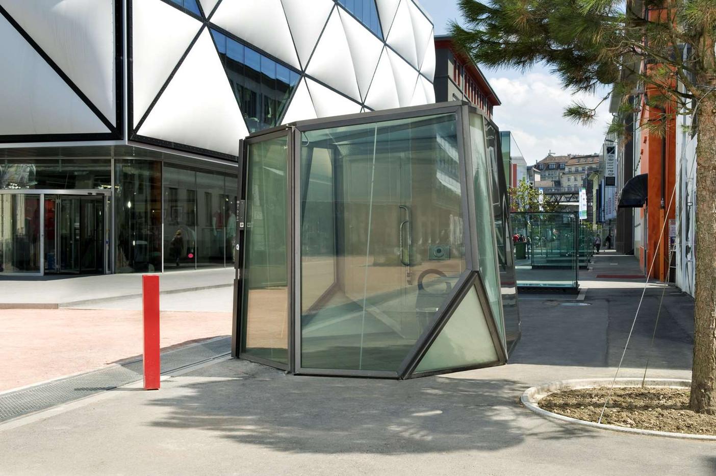 WC du Flon, Lausanne