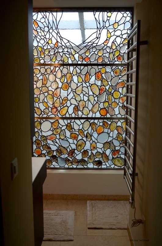 Cadre pour recevoir les vitraux