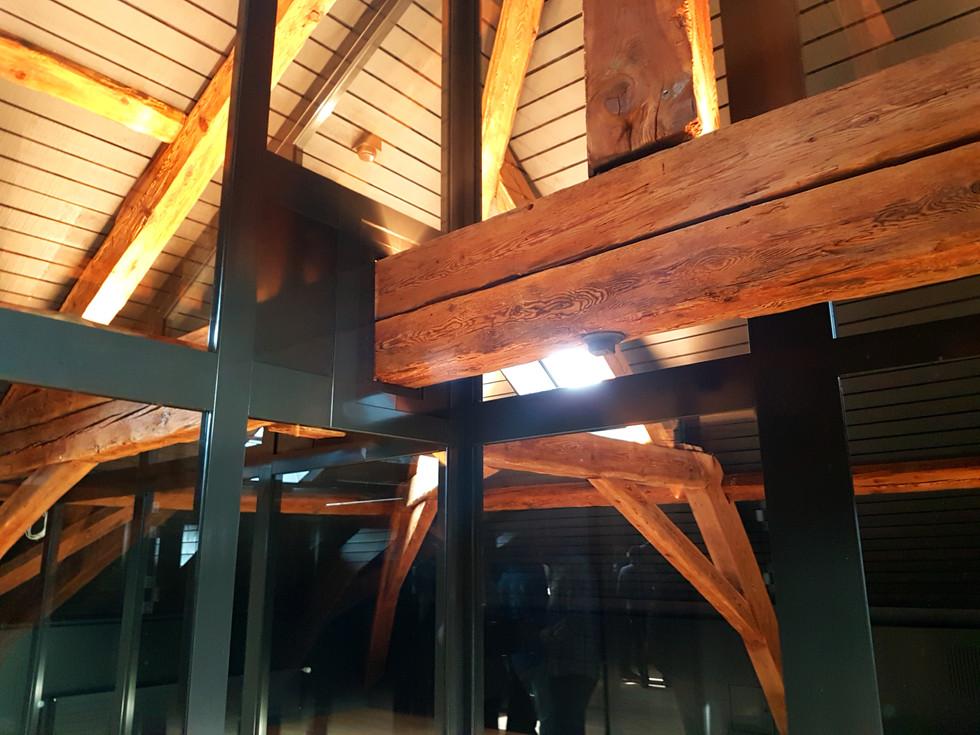 Rénovation de combles, MBD architecte