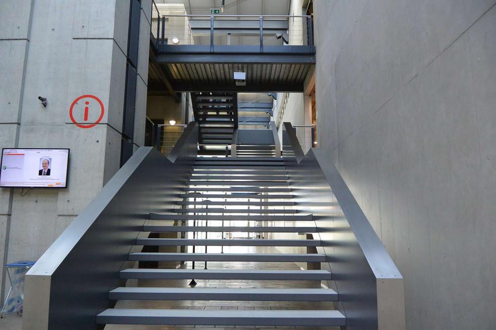Escalier école professionnelle technique Sion