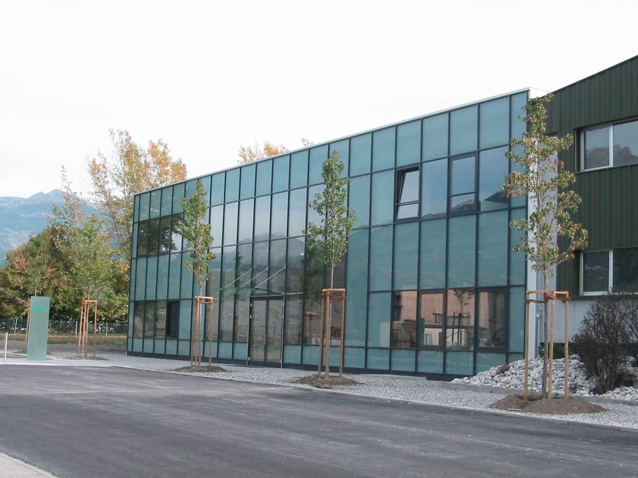 Halle Müller, façade vitrée