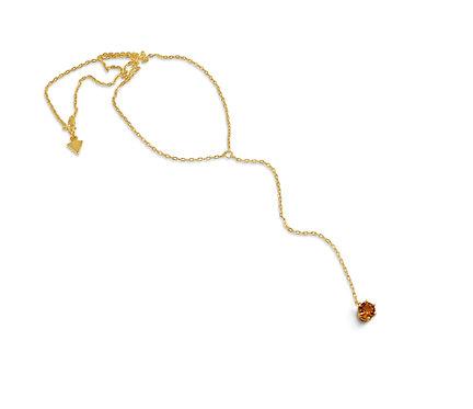 topaz necklace,katherine lincoln,gold necklace,brooklyn jeweler,custom jeweler,brooklyn,topaz,red hook brooklyn, brooklyn