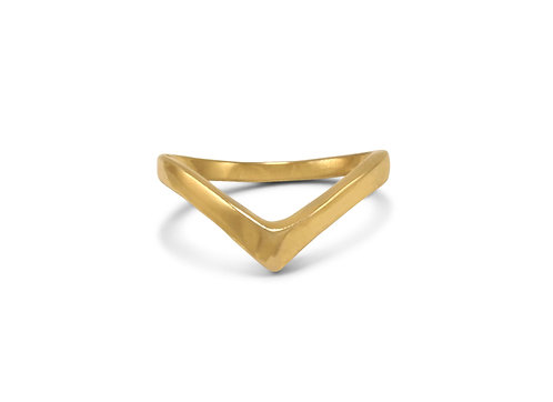Tiny Wave Stacking Ring