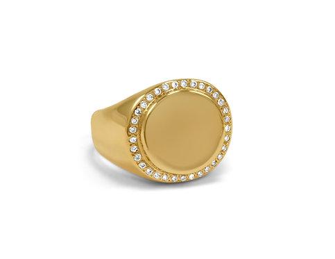 Unisex Jules Signet Ring