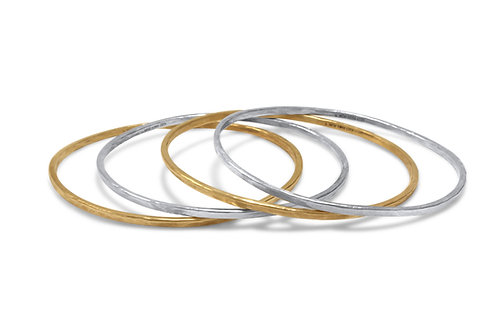 Marianna Hammered Bangle