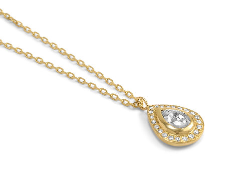 Natural Diamond Olivia Pendant