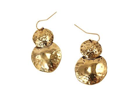 Double Luna Earrings
