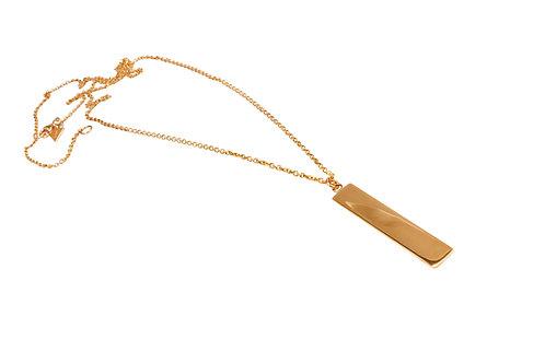 Love Supreme Tag Necklace