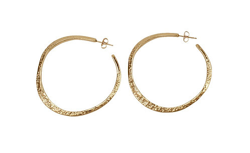 Hoop earrings, Katherine Lincoln, Hoops, Brooklyn jeweler