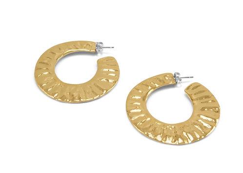 Willow Street Hoop Earrings
