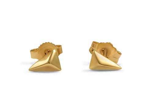 Tiny Chop Stud Earrings