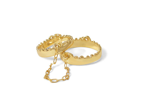 Sawtooth Chained Double Ring