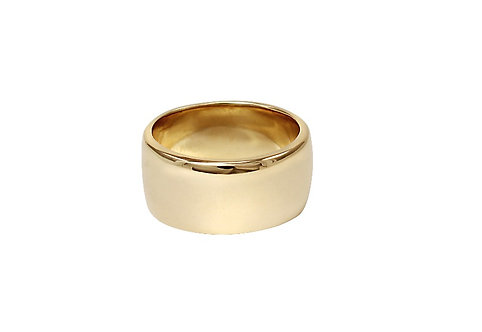 Cigar Band Style Ring