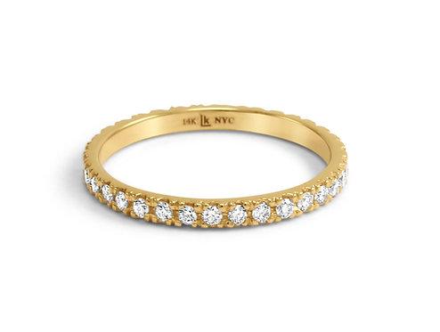 eternity band,custom wedding band,custom wedding jewelry,katherine lincoln,black diamond band,brooklyn jeweler