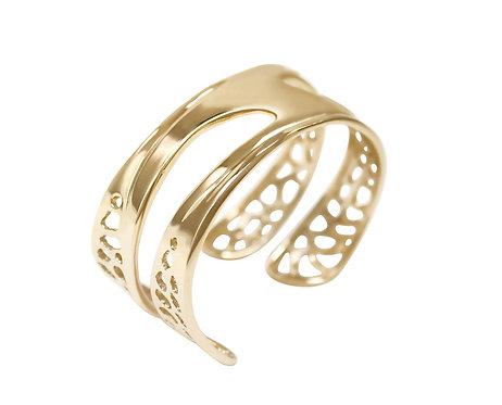 Small Undercurrent Cuff Bracelet