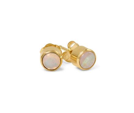 Sylvie Opal Earrings