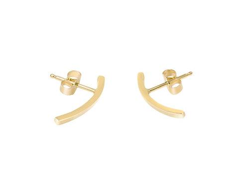 Classic Bent Bar Earrings