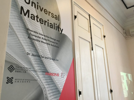 Universal Materiality Travelling Exhibition, Hong Kong Museum of Medical Sciences, 18-26th December