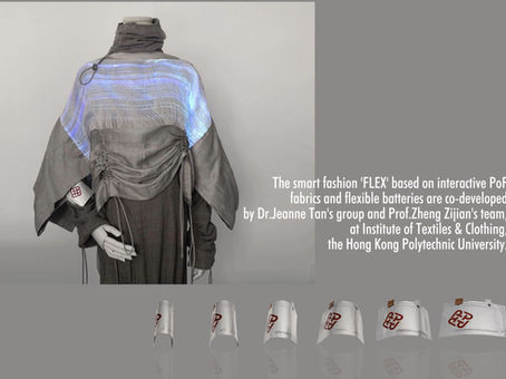 Smart Fashion 'FLEX' by Dr Jeanne Tan's Group and Prof Zheng Zijian's Team